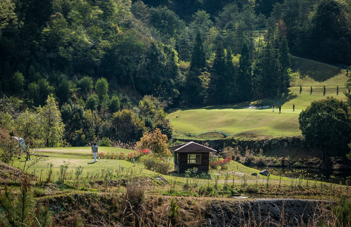 Tee Time -- Otsu, Shiga, Japan -- Copyright 2017 Jeffrey Friedl, http://regex.info/blog/ -- This photo is licensed to the public under the Creative Commons Attribution-NonCommercial 4.0 International License http://creativecommons.org/licenses/by-nc/4.0/ (non-commercial use is freely allowed if proper attribution is given, including a link back to this page on http://regex.info/ when used online)