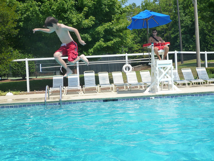 More Silliness spinning backwards off the diving board -- Charlotte, North Carolina, USA -- Copyright 2011 Jeffrey Friedl, http://regex.info/blog/