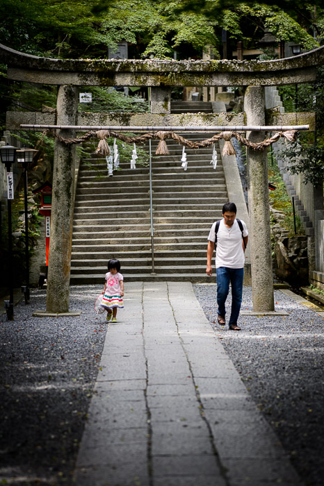 &#8220; I Can Walk By MYSELF&#8221;   --    --  Nagaokakyo, Kyoto, Japan  --  Copyright 2012 Jeffrey Friedl, http://regex.info/blog/2012-09-23/2098  --  This photo is licensed to the public under the Creative Commons Attribution-NonCommercial 3.0 Unported License http://creativecommons.org/licenses/by-nc/3.0/ (non-commercial use is freely allowed if proper attribution is given, including a link back to this page on http://regex.info/ when used online)