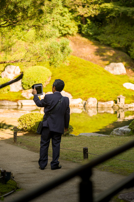 Every Kind of Camera  --  Shoren'in Temple (青蓮院)  --  Kyoto, Japan  --  Copyright 2012 Jeffrey Friedl, http://regex.info/blog/