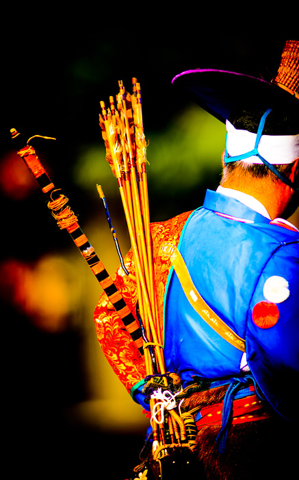 "desktop background image of a Japanese archer in period costume, during the Jidai Matsuri (時代祭, ""Festival of the Ages"") in Kyoto Japan  --  Over-the-Top Processing  --  Jidai Matsuri (時代祭)  --  Copyright 2012 Jeffrey Friedl, http://regex.info/blog/  --  This photo is licensed to the public under the Creative Commons Attribution-NonCommercial 3.0 Unported License http://creativecommons.org/licenses/by-nc/3.0/ (non-commercial use is freely allowed if proper attribution is given, including a link back to this page on http://regex.info/ when used online)"