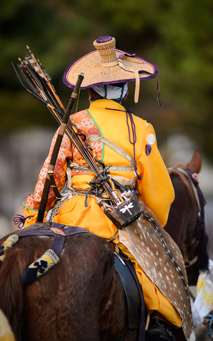 desktop background image of a Japanese man on horseback in a colorful period costume, during the &#34;Jidai Matsuri&#34;  festival () in Kyoto Japan  --  Movin' Along back at 300mm on the main camera body  --  Jidai Matsuri ()  --  Copyright 2012 Jeffrey Friedl, http://regex.info/blog/  --  This photo is licensed to the public under the Creative Commons Attribution-NonCommercial 3.0 Unported License http://creativecommons.org/licenses/by-nc/3.0/ (non-commercial use is freely allowed if proper attribution is given, including a link back to this page on http://regex.info/ when used online)