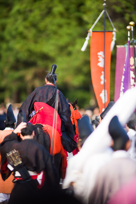 Rush Hour  --  Jidai Matsuri (時代祭)  --  Kyoto, Japan  --  Copyright 2012 Jeffrey Friedl, http://regex.info/blog/  --  This photo is licensed to the public under the Creative Commons Attribution-NonCommercial 3.0 Unported License http://creativecommons.org/licenses/by-nc/3.0/ (non-commercial use is freely allowed if proper attribution is given, including a link back to this page on http://regex.info/ when used online)