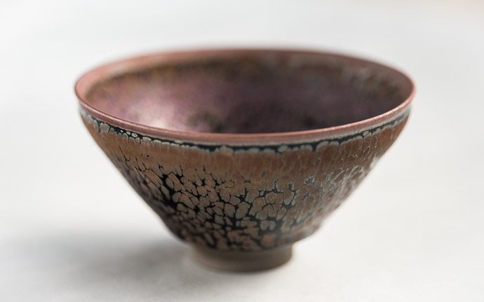 Winter Tea Bowl  --  Kamada workshop (鎌田幸二の作業場)  --  Kyoto, Japan  --  Copyright 2012 Jeffrey Friedl, http://regex.info/blog/