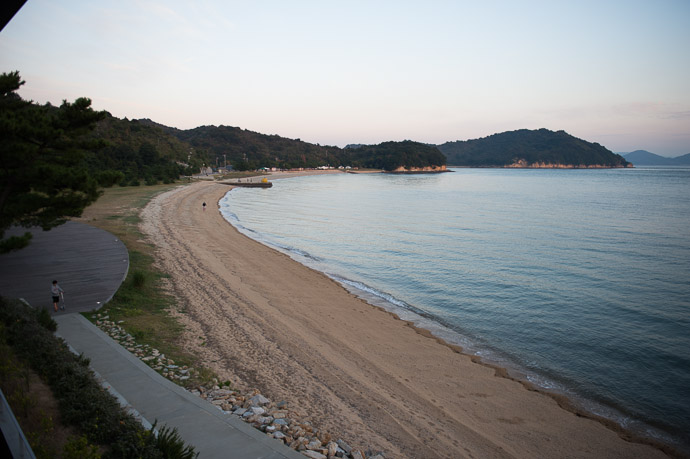 The View  --  Benesse House  --  Naoshima, Kagawa, Japan  --  Copyright 2012 Jeffrey Friedl, http://regex.info/blog/