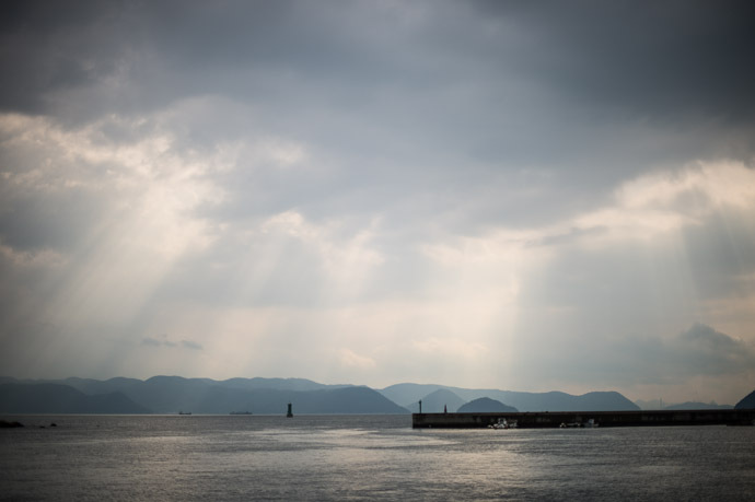 Port Miraura ()  --  Naoshima, Kagawa, Japan  --  Copyright 2012 Jeffrey Friedl, http://regex.info/blog/