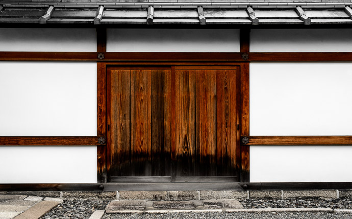 desktop background image of Temple wall with embedded door, at the Myouhouin Temple (), Kyoto Japan  --  Private Entrance at the Myouhouin Temple (), Kyoto Japan  --  Myouhouin Temple ()  --  Copyright 2012 Jeffrey Friedl, http://regex.info/blog/  --  This photo is licensed to the public under the Creative Commons Attribution-NonCommercial 3.0 Unported License http://creativecommons.org/licenses/by-nc/3.0/ (non-commercial use is freely allowed if proper attribution is given, including a link back to this page on http://regex.info/ when used online)