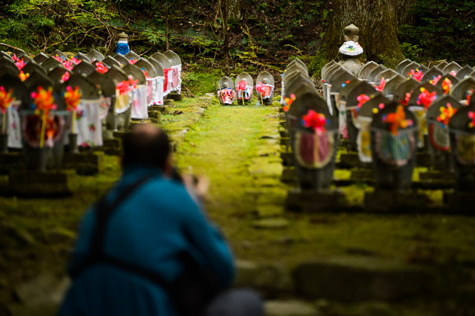 Three Little Standouts  --  Kongorinji Temple ()  --  Echi, Shiga, Japan  --  Copyright 2012 Jeffrey Friedl, http://regex.info/blog/  --  This photo is licensed to the public under the Creative Commons Attribution-NonCommercial 3.0 Unported License http://creativecommons.org/licenses/by-nc/3.0/ (non-commercial use is freely allowed if proper attribution is given, including a link back to this page on http://regex.info/ when used online)