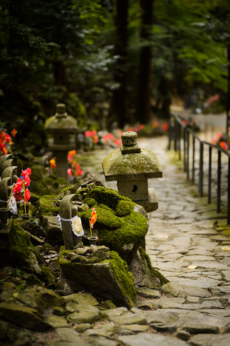 &#8220;Road Narrows&#8221;  --  Kongorinji Temple ()  --  Echi, Shiga, Japan  --  Copyright 2012 Jeffrey Friedl, http://regex.info/blog/  --  This photo is licensed to the public under the Creative Commons Attribution-NonCommercial 3.0 Unported License http://creativecommons.org/licenses/by-nc/3.0/ (non-commercial use is freely allowed if proper attribution is given, including a link back to this page on http://regex.info/ when used online)