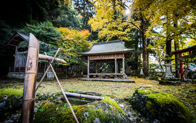 desktop background image of a fall-foliage scene at the Iwato Ochiba Shrine (), Kyoto Japan  --  Side View Iwato Ochiba Shrine ()  --  Iwato Ochiba Jinja ()  --  Copyright 2012 Jeffrey Friedl, http://regex.info/blog/  --  This photo is licensed to the public under the Creative Commons Attribution-NonCommercial 3.0 Unported License http://creativecommons.org/licenses/by-nc/3.0/ (non-commercial use is freely allowed if proper attribution is given, including a link back to this page on http://regex.info/ when used online)