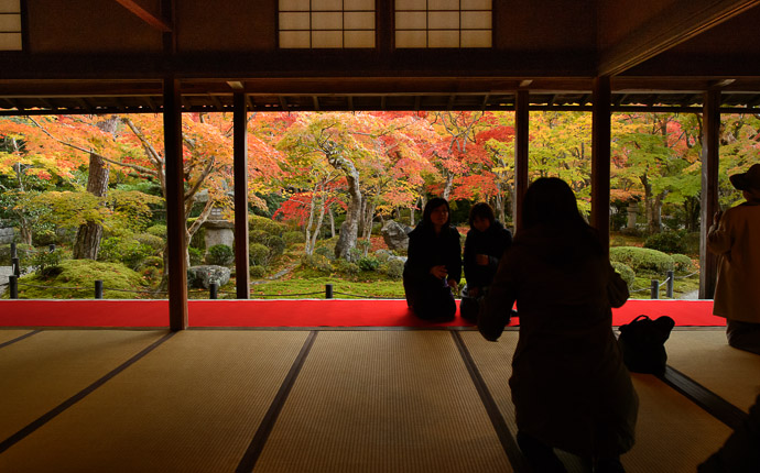 Relatively Uncrowded  --  Enkouji Temple (圓光寺)  --  Kyoto, Japan  --  Copyright 2012 Jeffrey Friedl, http://regex.info/blog/2013-02-03/2198  --  This photo is licensed to the public under the Creative Commons Attribution-NonCommercial 3.0 Unported License http://creativecommons.org/licenses/by-nc/3.0/ (non-commercial use is freely allowed if proper attribution is given, including a link back to this page on http://regex.info/ when used online)