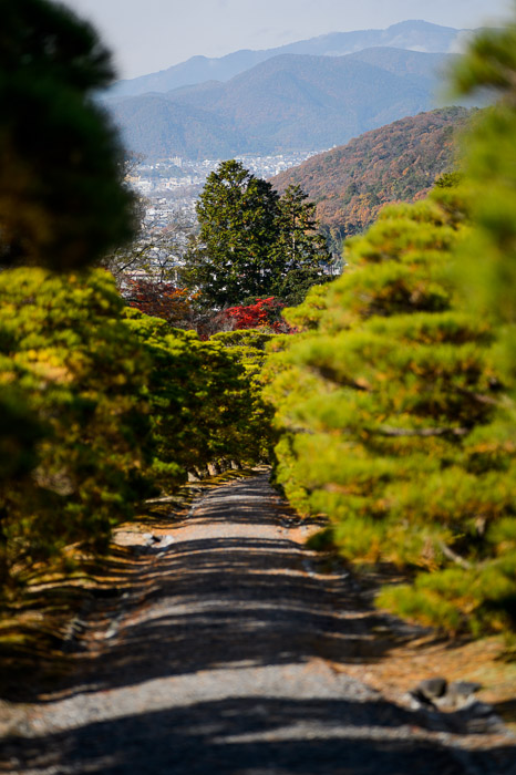 Emperor's Path  --  Shugakuin Imperial Villa (修学院離宮)  --  Kyoto, Japan  --  Copyright 2012 Jeffrey Friedl, http://regex.info/blog/  --  This photo is licensed to the public under the Creative Commons Attribution-NonCommercial 3.0 Unported License http://creativecommons.org/licenses/by-nc/3.0/ (non-commercial use is freely allowed if proper attribution is given, including a link back to this page on http://regex.info/ when used online)