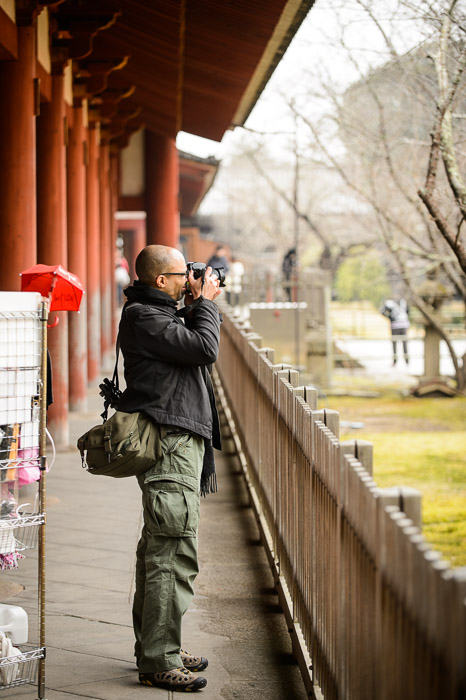 Non Portrait at the Todaiji Temple (東大寺), Nara Japan  --  Todaiji (東大寺)  --  Copyright 2012 Jeffrey Friedl, http://regex.info/blog/