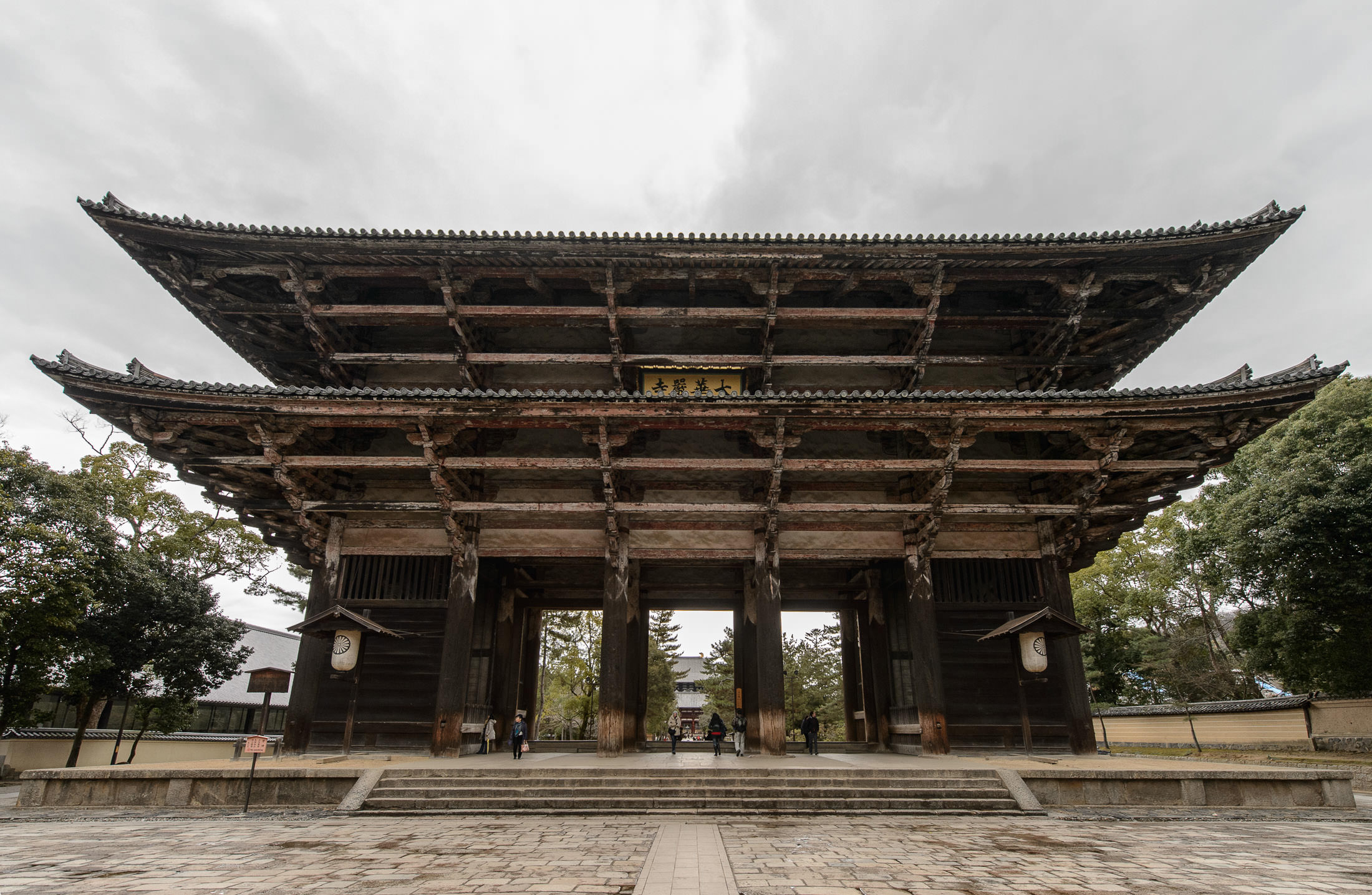 Jeffrey Friedls Blog » On the Approach to the Todaiji Temple in Nara