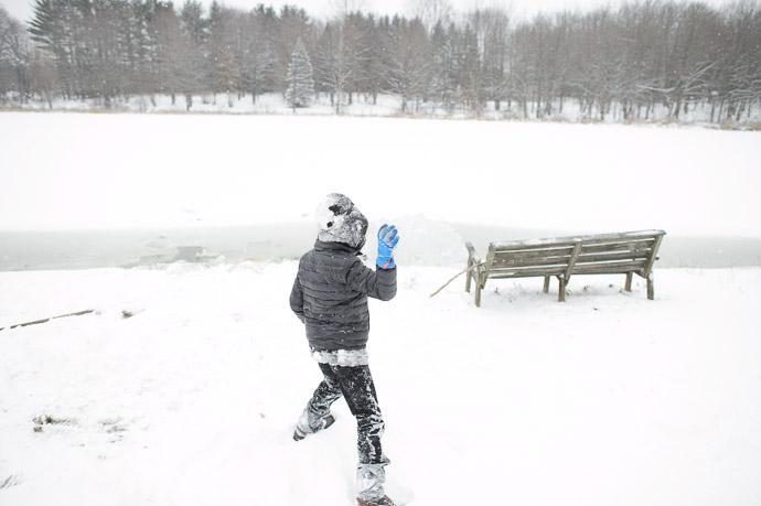"Winter Version of "" Throwin' Rocks ""  --  Rootstown, OH, USA  --  Copyright 2012 Jeffrey Friedl, http://regex.info/blog/"