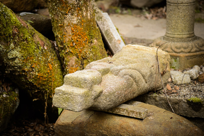 Sleeping Beauty  --  Nishimura Stone Lanterns ()  --  Kyoto, Japan  --  Copyright 2013 Jeffrey Friedl, http://regex.info/blog/  --  This photo is licensed to the public under the Creative Commons Attribution-NonCommercial 3.0 Unported License http://creativecommons.org/licenses/by-nc/3.0/ (non-commercial use is freely allowed if proper attribution is given, including a link back to this page on http://regex.info/ when used online)
