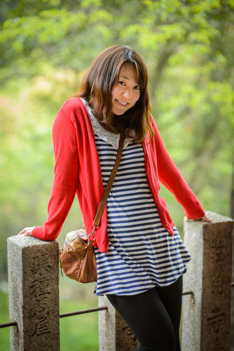 100% Yuko -- Fushimi Inari Shrine (伏見稲荷大社) -- Kyoto, Japan -- Copyright 2013 Jeffrey Friedl, http://regex.info/blog/
