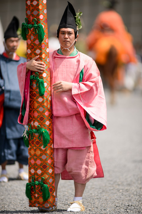 Santa? -- Aoi Matsuri, at the Kyoto Imperial Palace Park ( Kyoto Gosho )  -- Kyoto, Japan -- Copyright 2013 Jeffrey Friedl, http://regex.info/blog/ -- This photo is licensed to the public under the Creative Commons Attribution-NonCommercial 3.0 Unported License http://creativecommons.org/licenses/by-nc/3.0/ (non-commercial use is freely allowed if proper attribution is given, including a link back to this page on http://regex.info/ when used online)