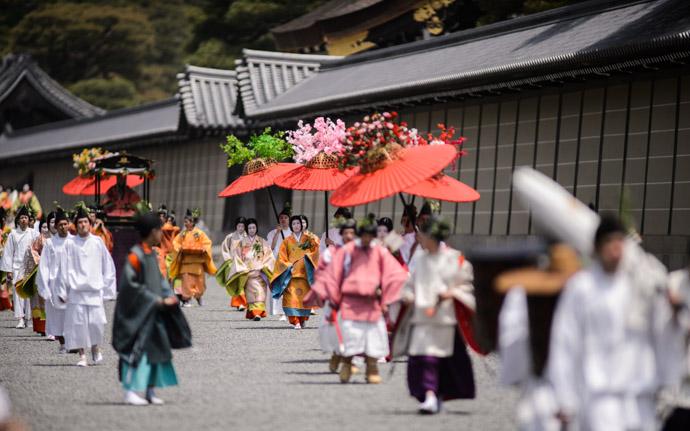 the Aoi Matsuri festival (葵祭) in Kyoto Japan