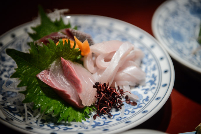 Various Sashimi -- Nagasaki, Japan -- Copyright 2013 Jeffrey Friedl, http://regex.info/blog/