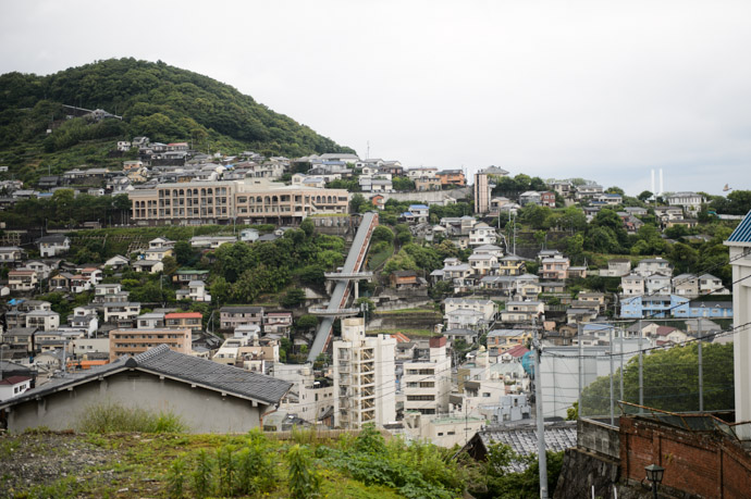View From an Opposing Hill -- Nagasaki, Japan -- Copyright 2013 Jeffrey Friedl, http://regex.info/blog/