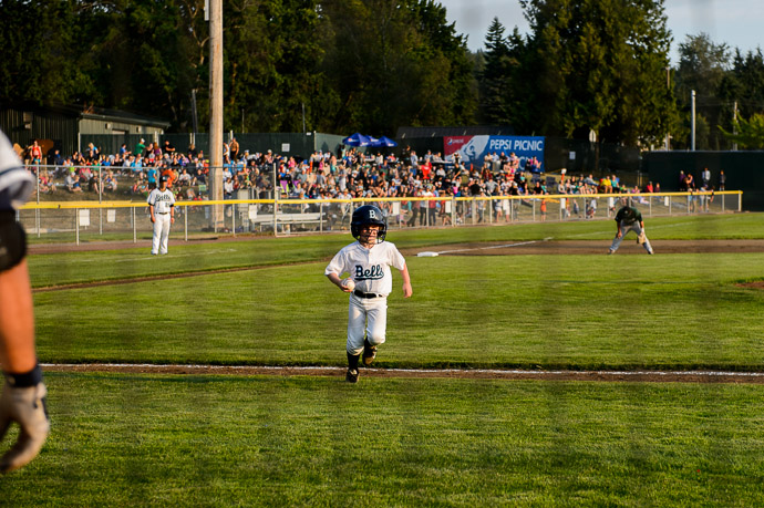 Fetching a Ball from the Infield -- Joe Martin Stadium -- Bellingham, Washington, USA -- Copyright 2013 Jeffrey Friedl, http://regex.info/blog/