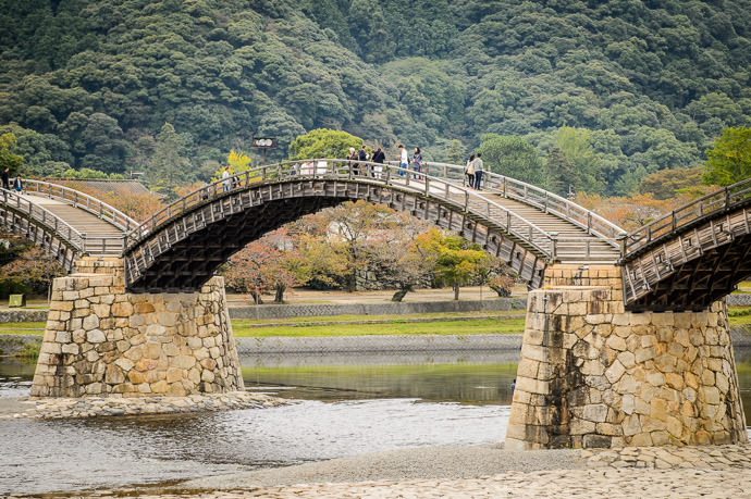 The Kintai Bridge (錦帯橋) Iwakuni, Japan -- Kintai Bridge (錦帯橋) -- Iwakuni, Yamaguchi, Japan -- Copyright 2013 Jeffrey Friedl, http://regex.info/blog/