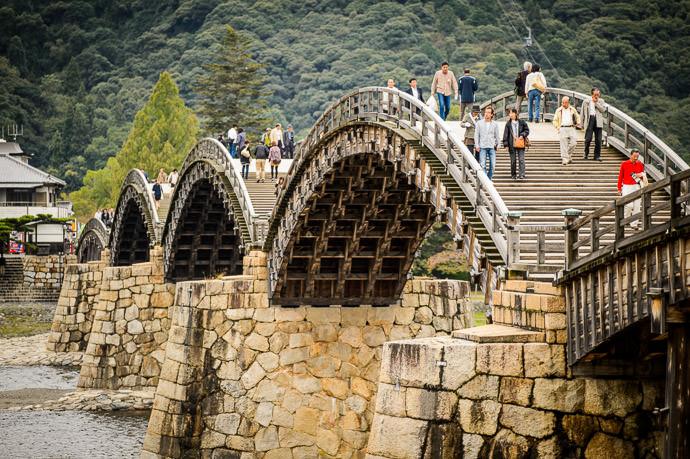 More Arches than McDonald's -- Kintai Bridge (錦帯橋) -- Iwakuni, Yamaguchi, Japan -- Copyright 2013 Jeffrey Friedl, http://regex.info/blog/