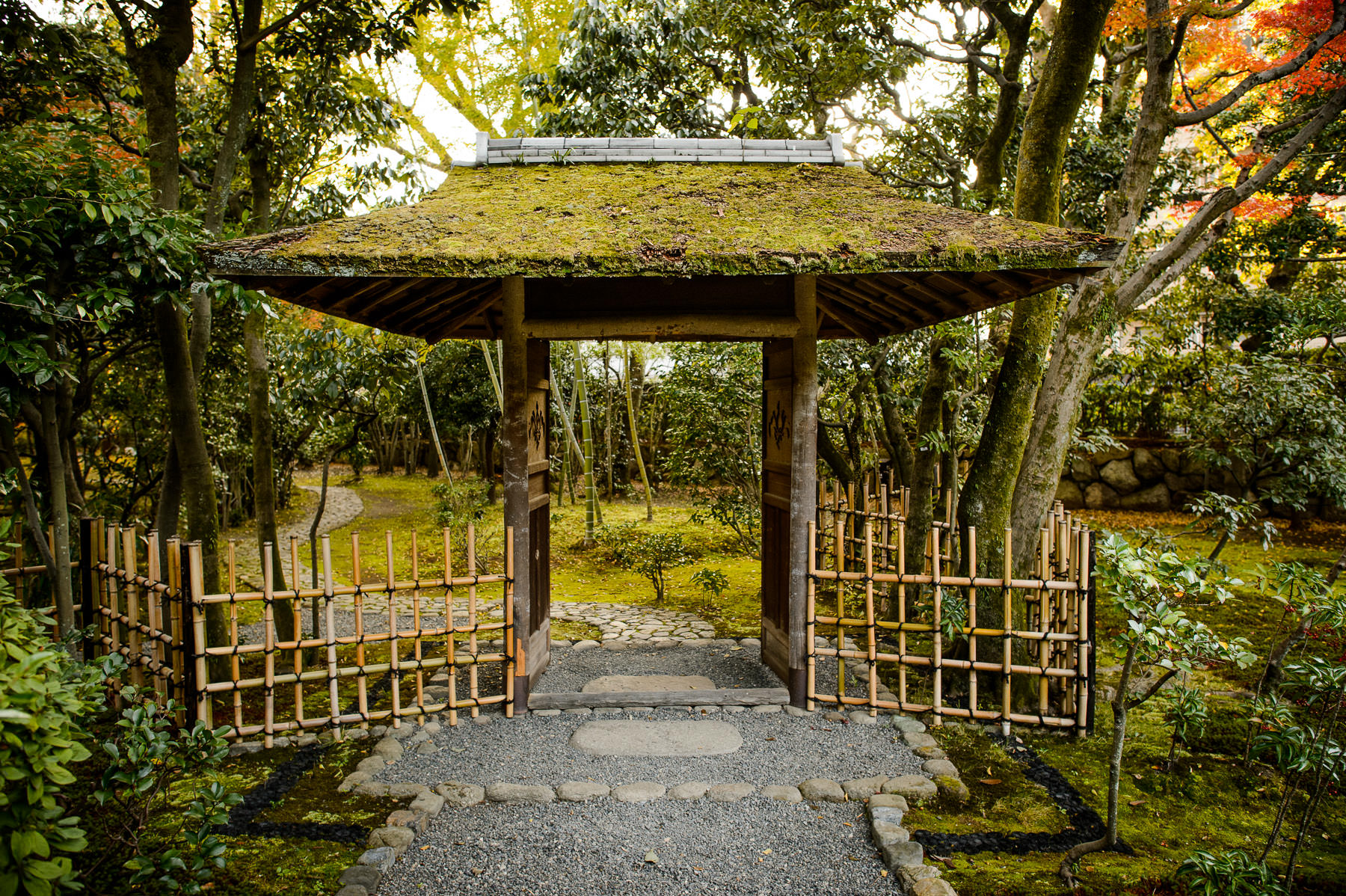 Jeffrey Friedl\'s Blog » Approaching the Tea House at Kyoto\'s Seifuso ...