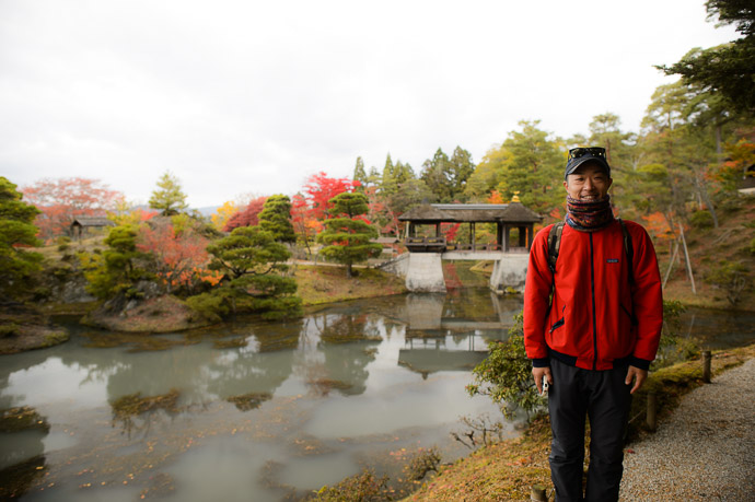 Ken-chan -- Shugakuin Imperial Villa (修学院離宮) -- Kyoto, Japan -- Copyright 2013 Jeffrey Friedl, http://regex.info/blog/