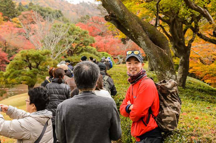 Ken Again -- Shugakuin Imperial Villa (修学院離宮) -- Kyoto, Japan -- Copyright 2013 Jeffrey Friedl, http://regex.info/blog/