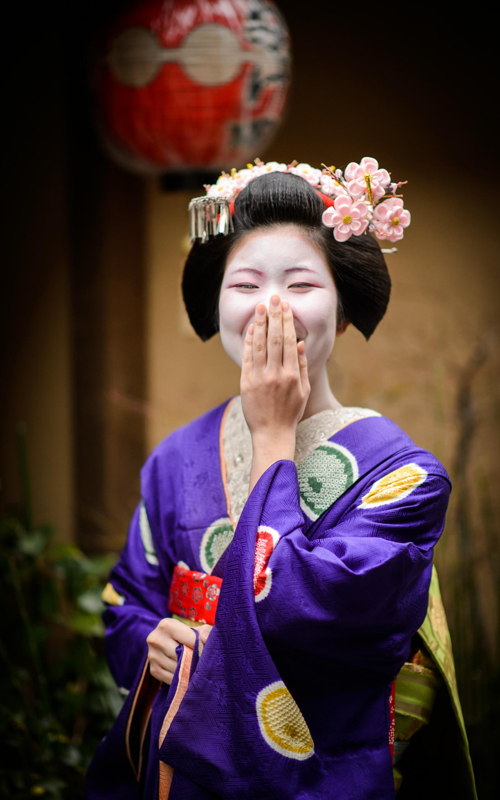 Jeffrey Friedl's Blog » An Apprentice-Geisha Photoshoot ...