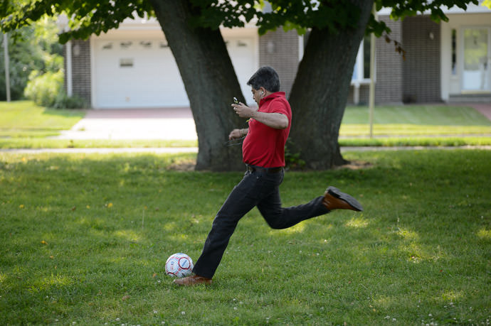 Soccer Star -- Buckley Park -- Whitefish Bay, Wisconsin, United States -- Copyright 2014 Jeffrey Friedl, http://regex.info/blog/