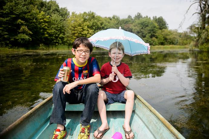Anthony and Luke -- Grandma and Grandpa Friedl's -- Rootstown, Ohio, USA -- Copyright 2014 Jeffrey Friedl, http://regex.info/blog/