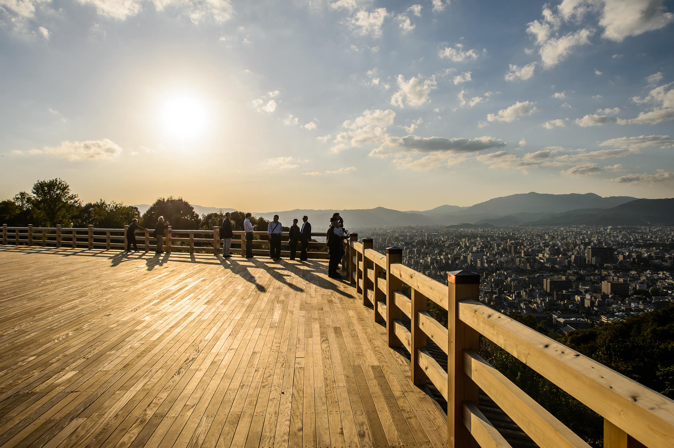 kyoto photo  view from shogunzuka viewpoint