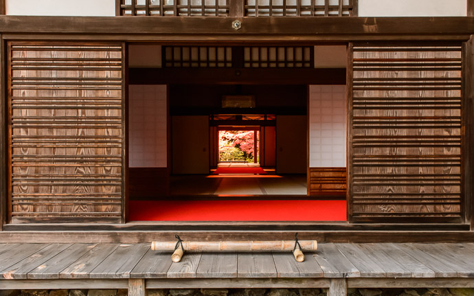 desktop background image of a temple building at the Kongorinji Temple (金剛輪寺), Shiga Japan -- Looking Through open doors of a temple building at the Kongorinji Temple (金剛輪寺), Shiga Japan -- Kongorinji Temple (金剛輪寺) -- Echi, Shiga, Japan -- Copyright 2014 Jeffrey Friedl, http://regex.info/blog/2014-12-19/2501 -- This photo is licensed to the public under the Creative Commons Attribution-NonCommercial 4.0 International License http://creativecommons.org/licenses/by-nc/4.0/ (non-commercial use is freely allowed if proper attribution is given, including a link back to this page on http://regex.info/ when used online)