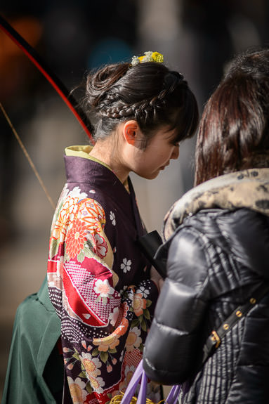 Braids -- Sanjusangendo Temple (三十三間堂) -- Kyoto , Kyoto, Japan -- Copyright 2015 Jeffrey Friedl, http://regex.info/blog/