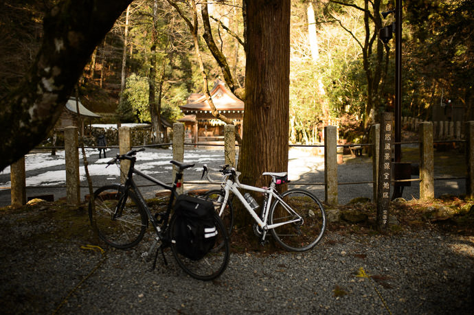 High Point of Our Trip 410m, at the Kibune Shrine Okumiya (貴船神社奥宮) -- Kibune Shrine Okumiya (貴船神社奥宮) -- Kyoto, Japan -- Copyright 2015 Jeffrey Friedl, http://regex.info/blog/