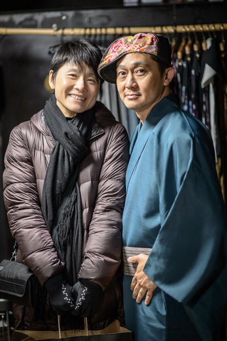 Gigi and Eric -- Kyoto, Japan -- Copyright 2015 Jeffrey Friedl, http://regex.info/blog/