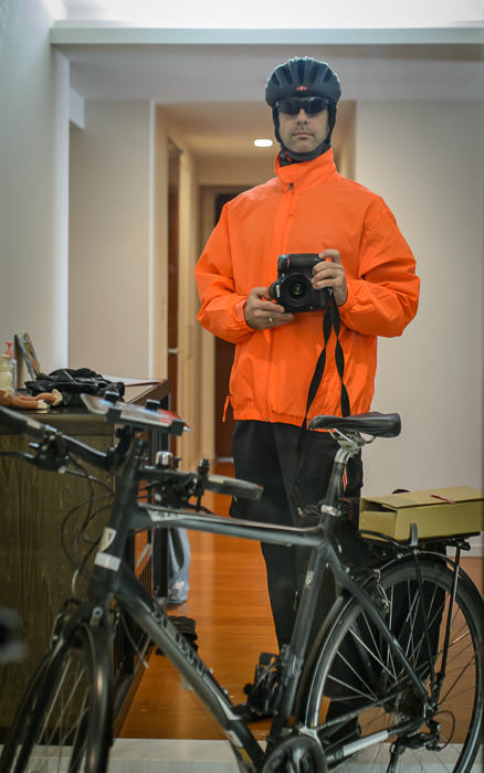 Ready to Head Out 8:53am -- Kyoto, Japan -- Copyright 2015 Jeffrey Friedl, http://regex.info/blog/