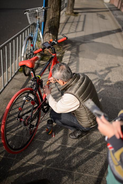Bike Upgrade -- Kyoto, Japan -- Copyright 2015 Jeffrey Friedl, http://regex.info/blog/