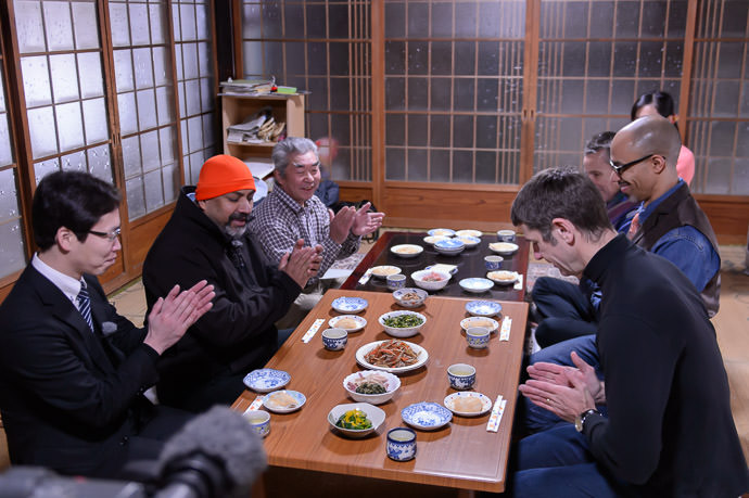 "Itadakimasu! ( "" Bon appétit "" ) -- Kyoto, Japan -- Copyright 2015 Jeffrey Friedl, http://regex.info/blog/"