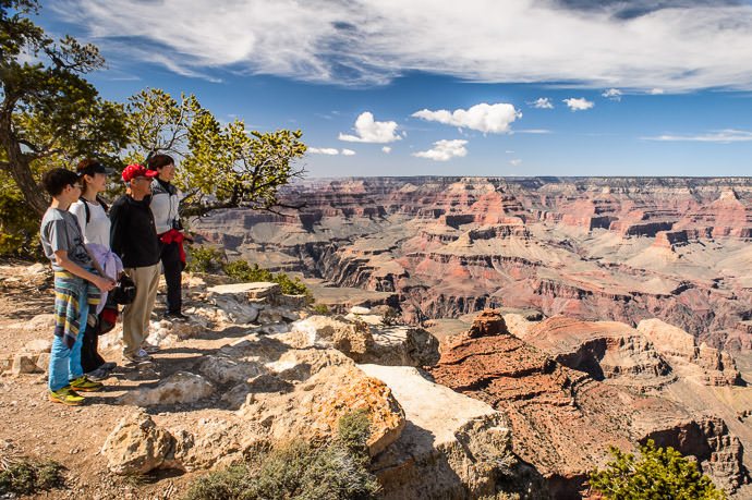 This Afternoon Grand Canyon, Yaki Point (South Rim) 今日:グランドキャニオン(アメリカのアリゾナ州) -- Grand Canyon Village, Arizona, United States -- Copyright 2015 Jeffrey Friedl, http://regex.info/blog/
