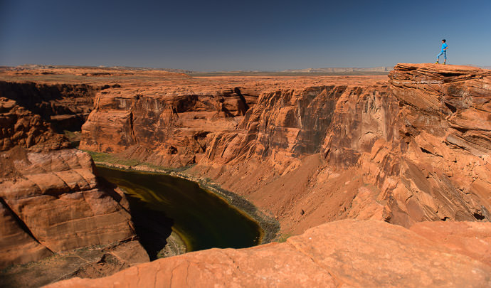 Horseshoe Bend -- Page, Arizona, United States -- Copyright 2015 Jeffrey Friedl, http://regex.info/blog/2015-09-09/2615 -- This photo is licensed to the public under the Creative Commons Attribution-NonCommercial 4.0 International License http://creativecommons.org/licenses/by-nc/4.0/ (non-commercial use is freely allowed if proper attribution is given, including a link back to this page on http://regex.info/ when used online)