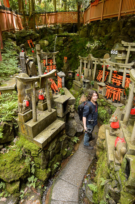 Completely Lost -- Fushimi-Inari Taisha Shrine (伏見稲荷大社) -- Kyoto , Kyoto, Japan -- Copyright 2015 Jeffrey Friedl, http://regex.info/blog/