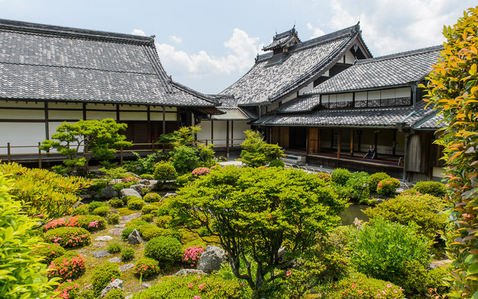 desktop background image of the garden at the Toji-in Temple (等持院), Kyoto Japan -- Private Garden It seesms that the guy in the room at right was the only other person there at the time -- Toji-in Temple (等持院) -- Copyright 2015 Jeffrey Friedl, http://regex.info/blog/ -- This photo is licensed to the public under the Creative Commons Attribution-NonCommercial 4.0 International License http://creativecommons.org/licenses/by-nc/4.0/ (non-commercial use is freely allowed if proper attribution is given, including a link back to this page on http://regex.info/ when used online)