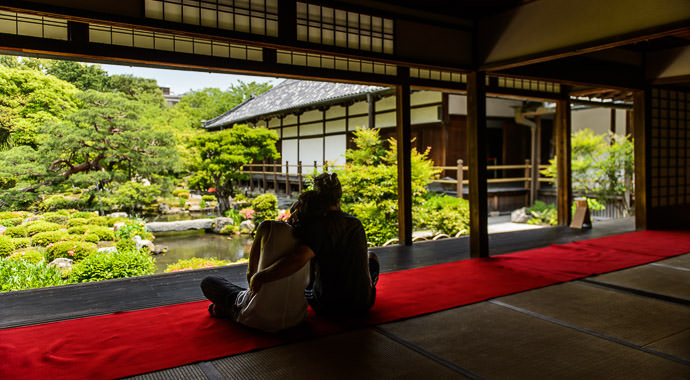 Room All To Themselves -- Toji-in Temple (等持院) -- Kyoto, Japan -- Copyright 2015 Jeffrey Friedl, http://regex.info/blog/