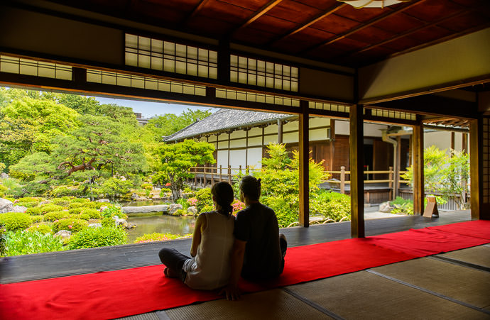 Toji-in Temple (等持院) -- Kyoto, Japan -- Copyright 2015 Jeffrey Friedl, http://regex.info/blog/