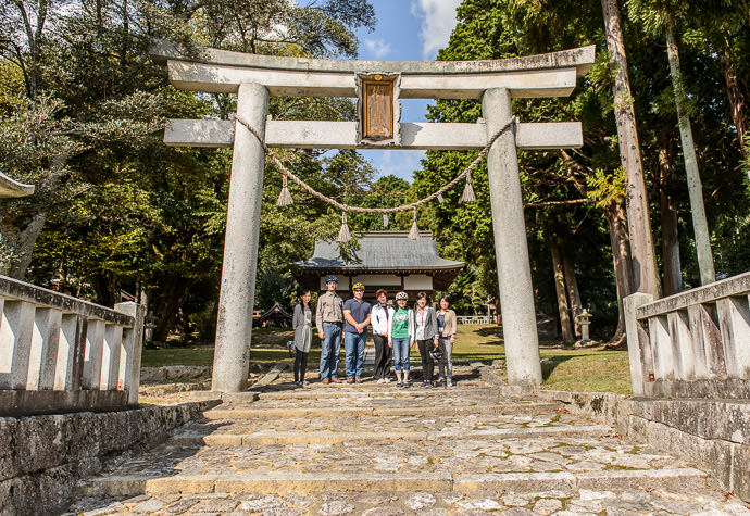 Photo Op one of many -- Juge Shrine (樹下神社) -- Otsu, Shiga, Japan -- Copyright 2015 Jeffrey Friedl, http://regex.info/blog/