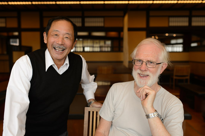 Kosuke Fukui and Jim Breen I've known both about the same time -- Kyoto, Japan -- Copyright 2015 Jeffrey Friedl, http://regex.info/blog/